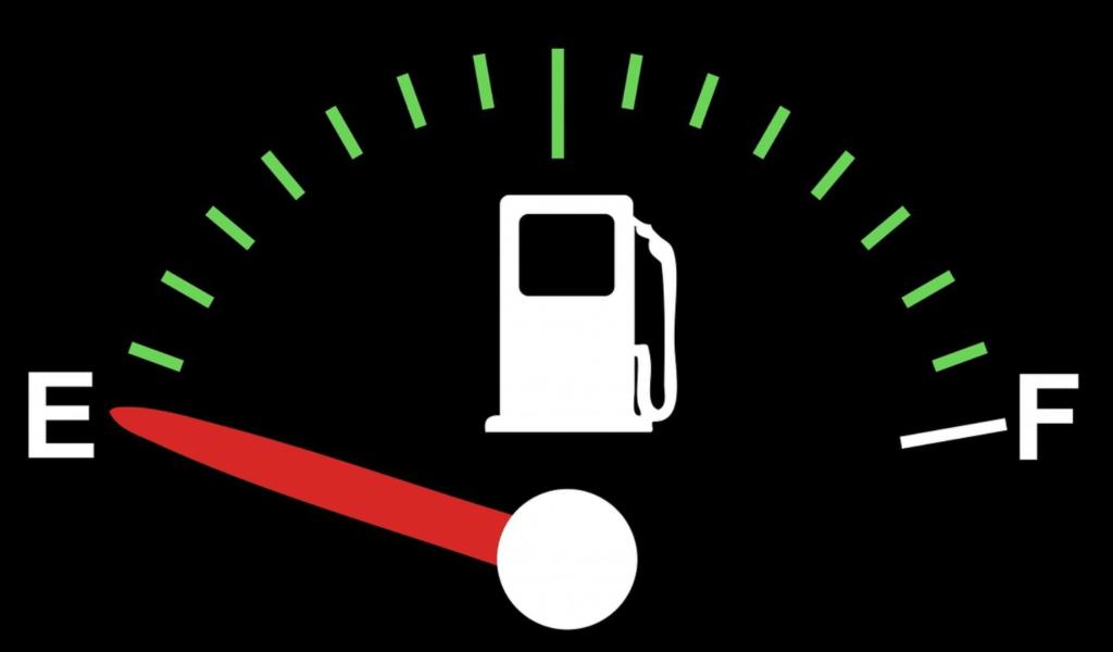 ガソリン燃料切れ
