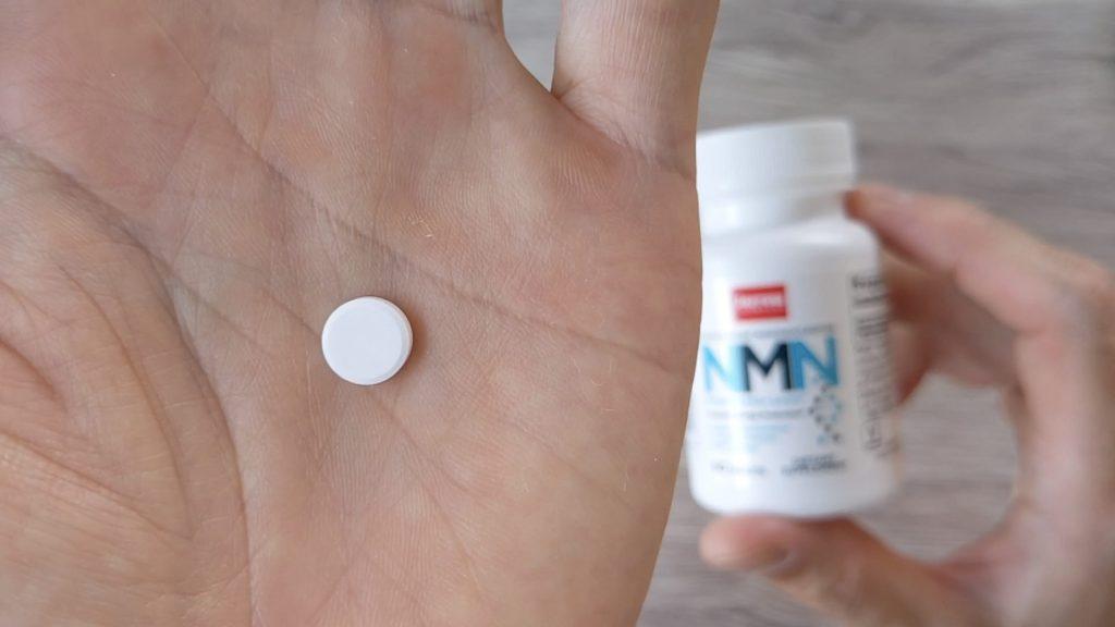 Jarrow Formulasの NMNサプリの錠剤の写真